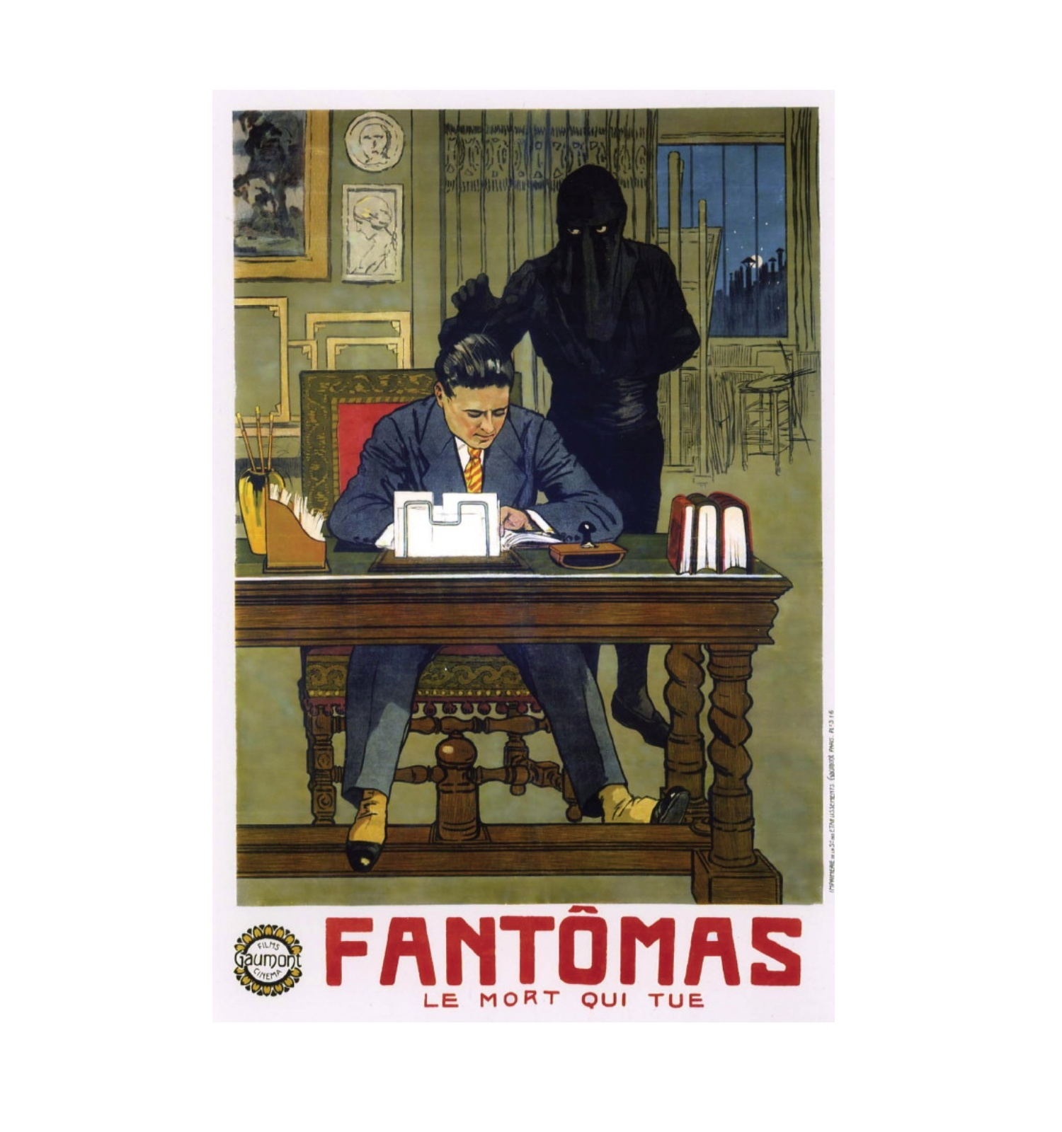 Fantômas de Louis Feuillade, Gaumont, domini públic