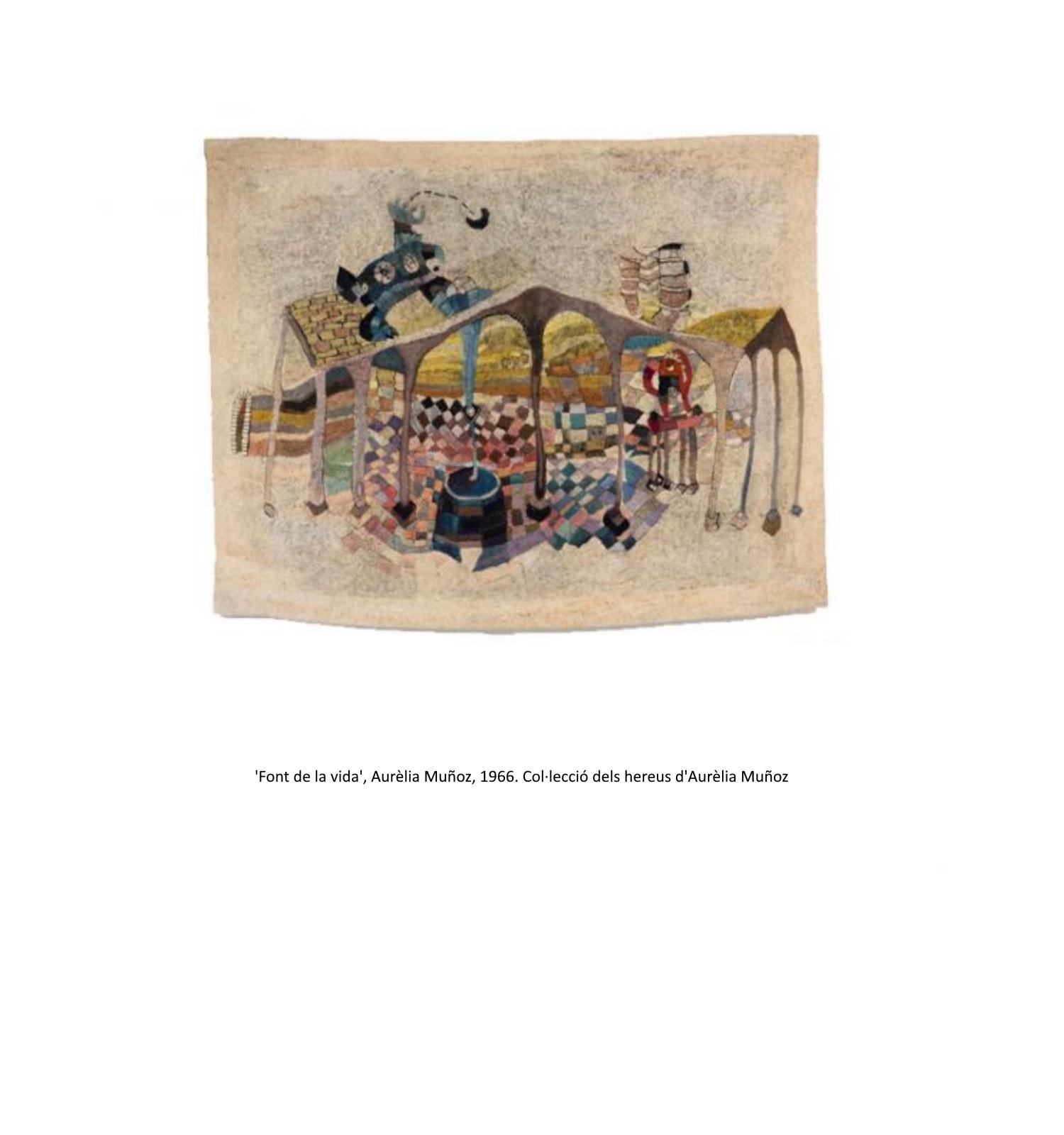 Font de la vida, Aurèlia Muñoz, 1966. Col·lecció dels hereus d'Aurèlia Muñoz