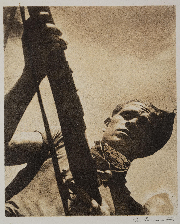 Fuseller [Vicente Burón], Antoni Campañà, 1936. Dipòsit de la família Campañà Capella, 2020