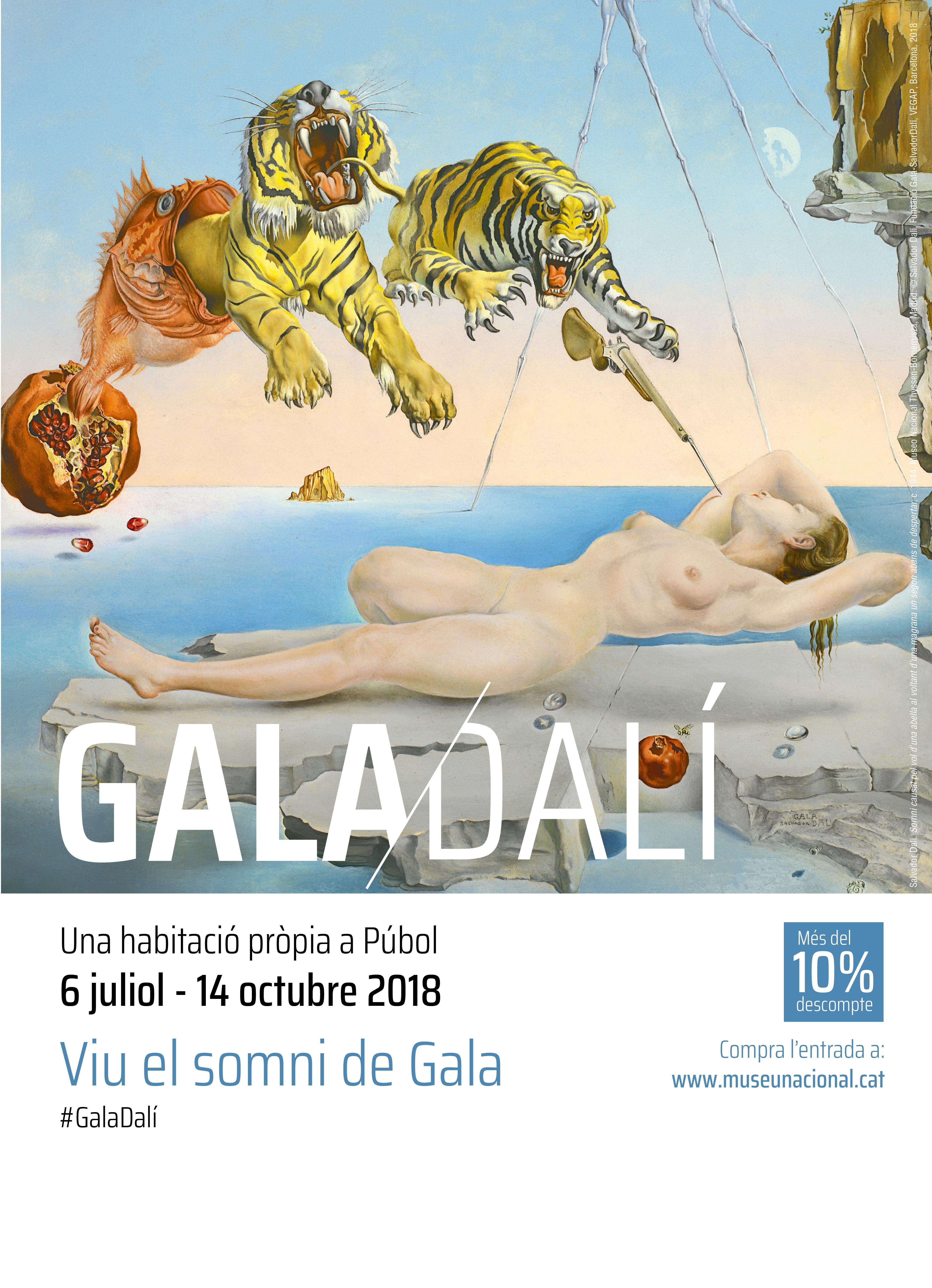 Gala Salvador Dalí. Una habitació pròpia a Púbol