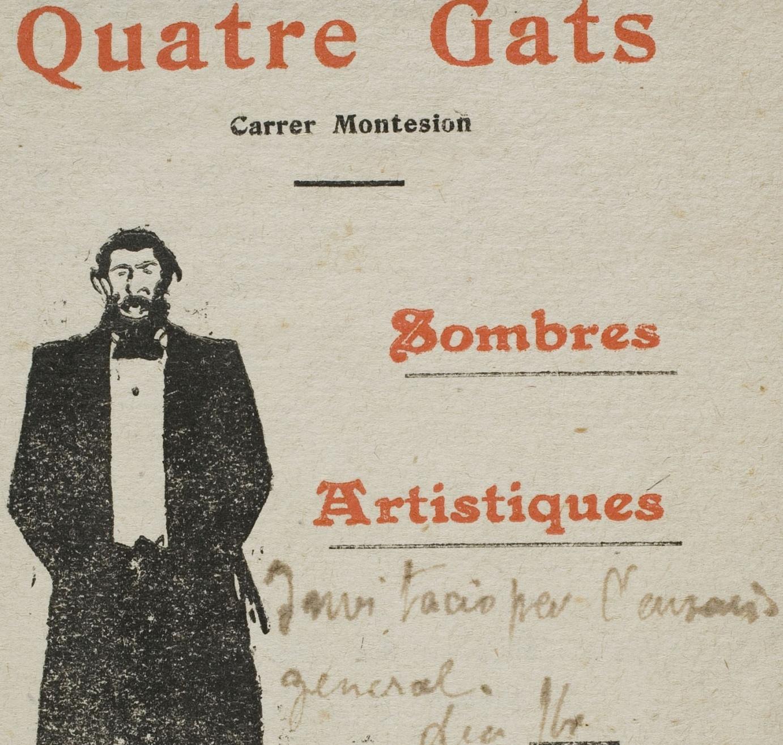 Ramon Casas i  les ombres xineses d'Els Quatre Gats. Bohèmia i imaginari popular