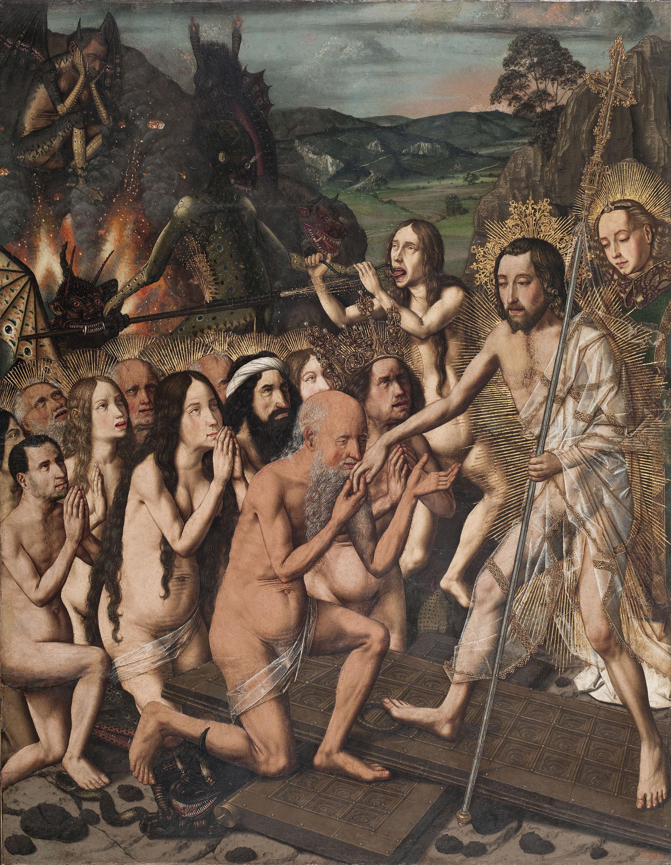 Bartolomé Bermejo - Davallament de Crist als Llimbs - Cap a 1474-1479