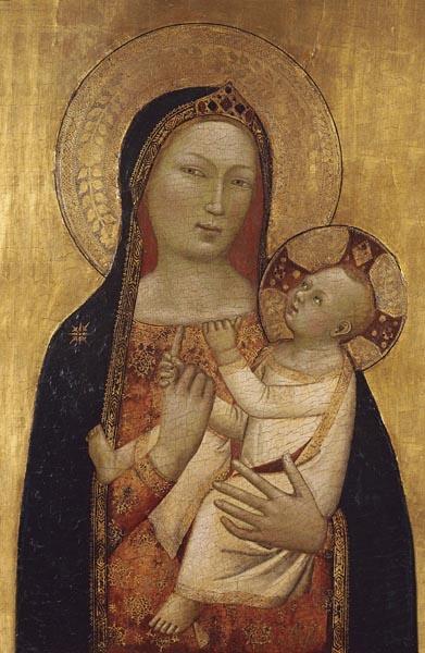 Bernardo Daddi - Mare de Déu amb el Nen - 1340-1345