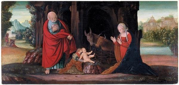 Bernardino Butinone - Nativitat - 1493