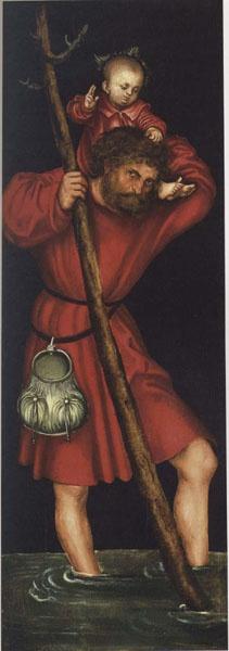 Lucas Cranach (el Vell) - Sant Cristòfol - Cap a 1514
