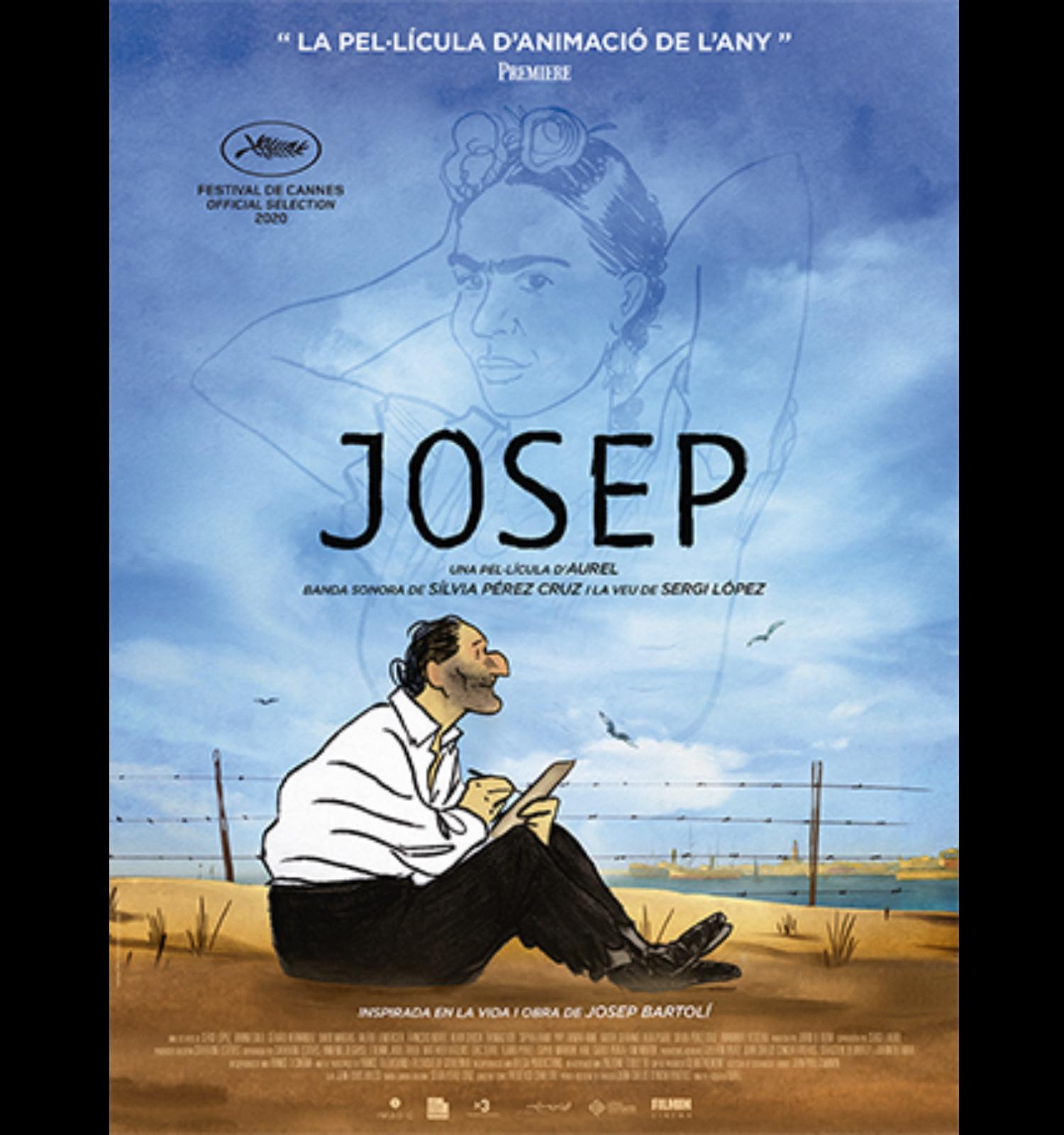 """Projecció de """"Josep"""", Aurélien Froment, 2020"""