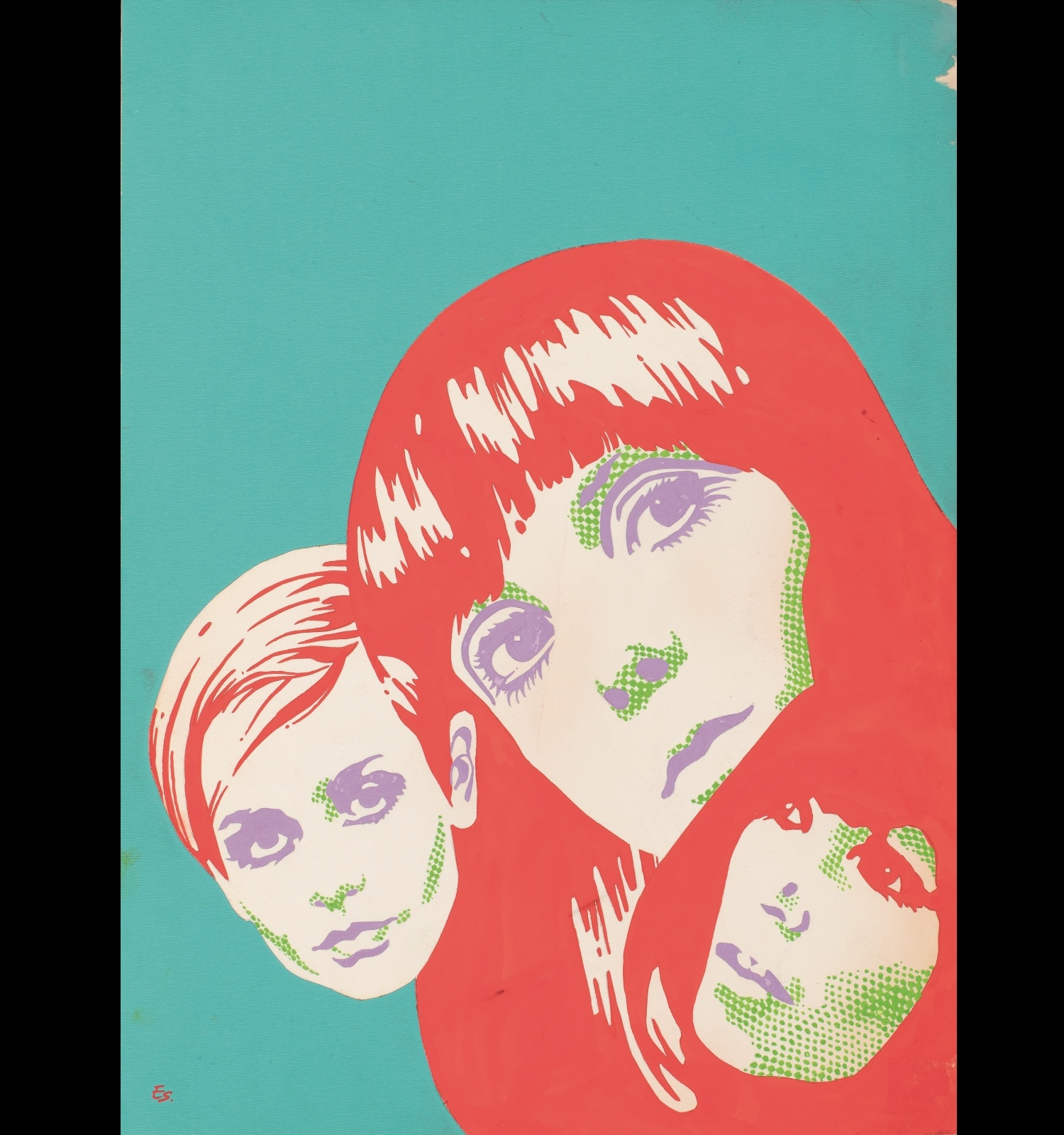 Poster for the magazine Oriflama (no. 70 cover., May 1968), Enric Sió, 1968. Particular Collection