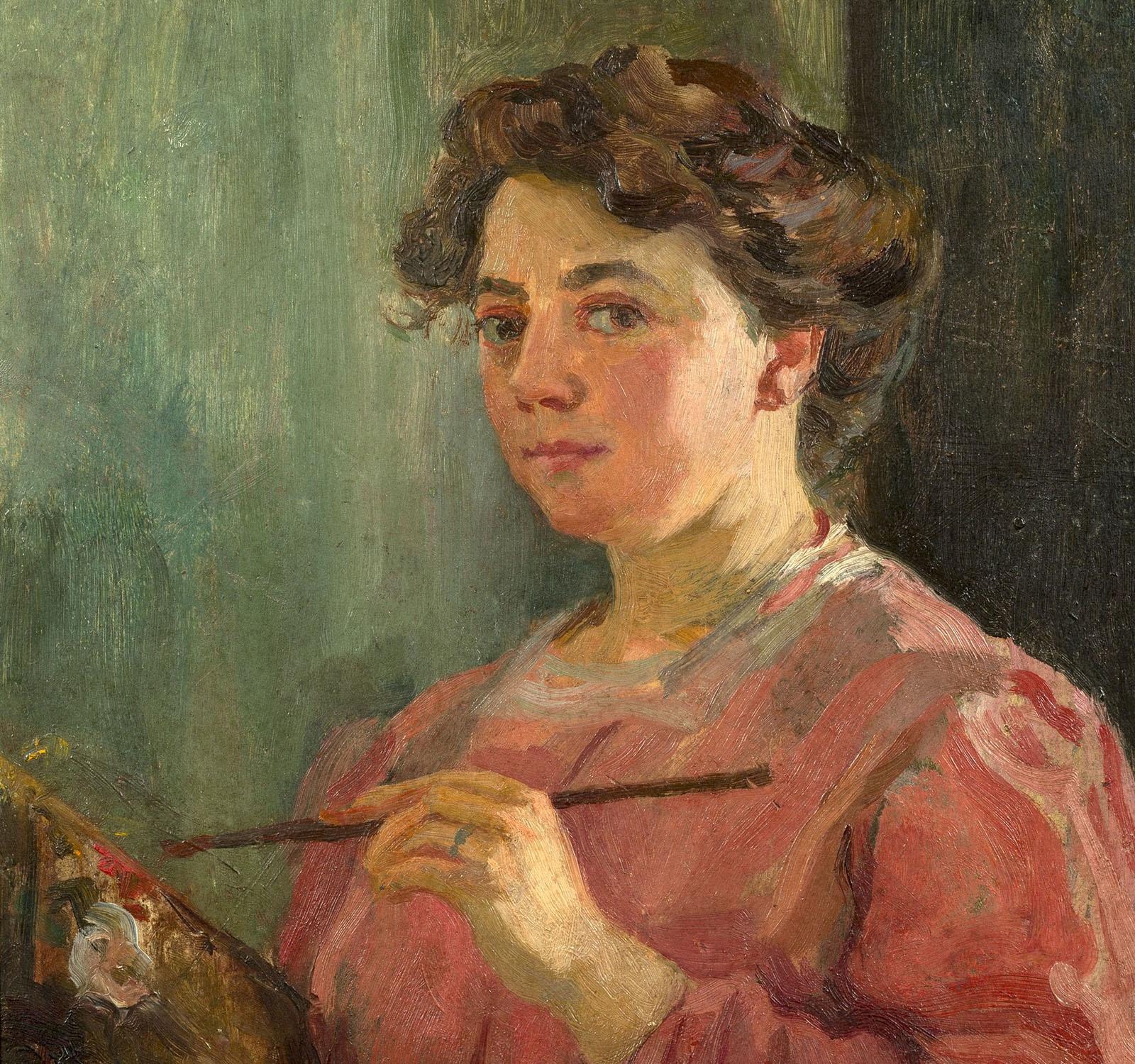 Lluïsa Vidal. Autoretrat