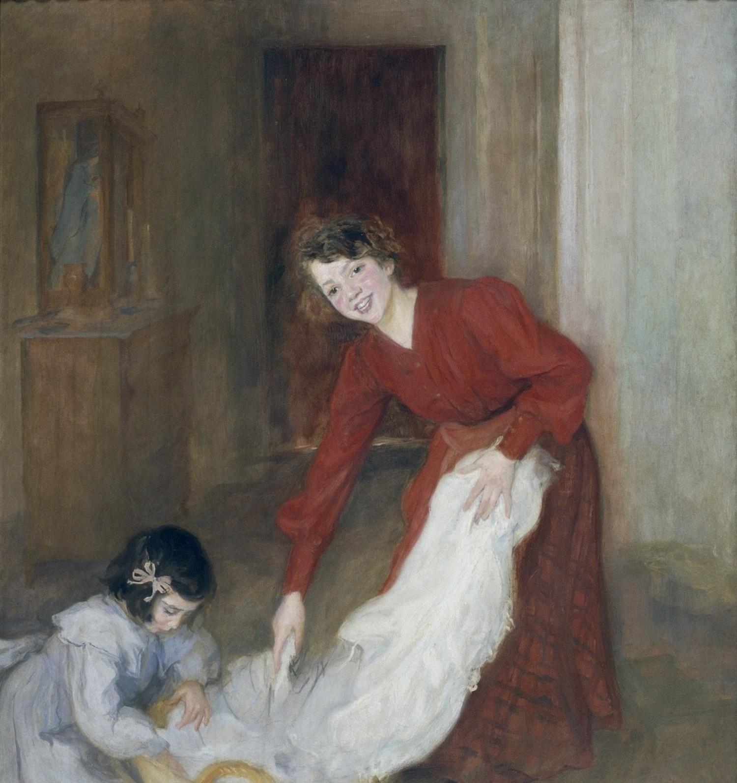 Lluïsa Vidal, Les mestresses de casa, 1905 (detall)