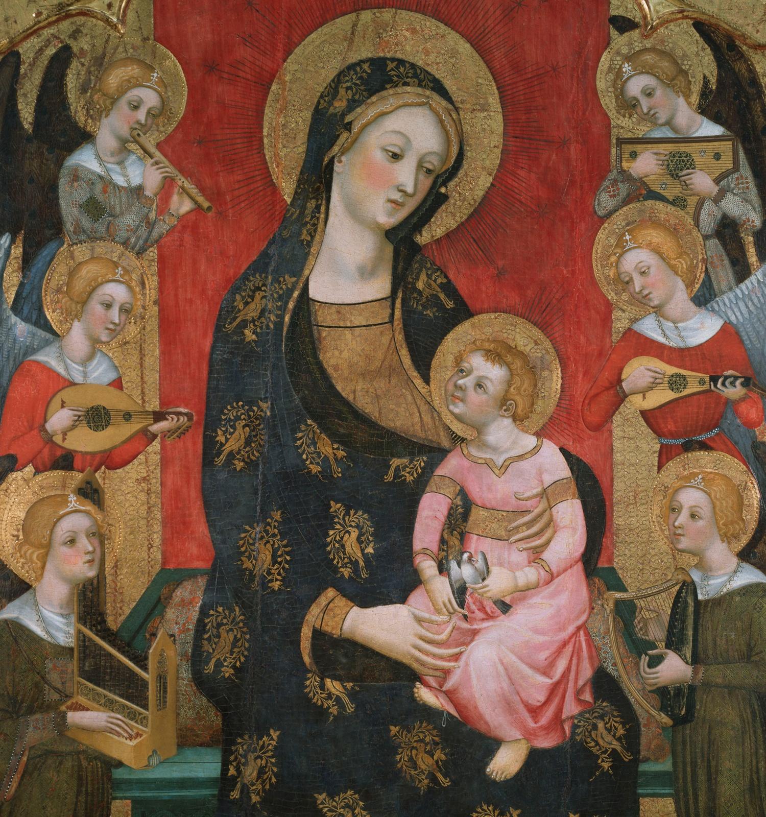 Museu Nacional Art Catalunya | Mare de Déu dels Àngels i Sants