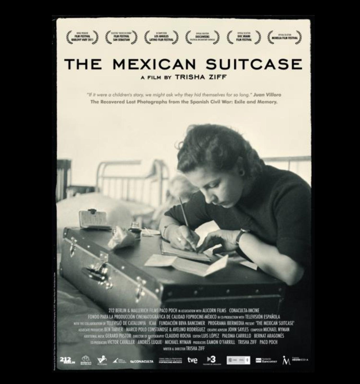 Projecció de La maleta mexicana (Trisha Ziff, 2011)