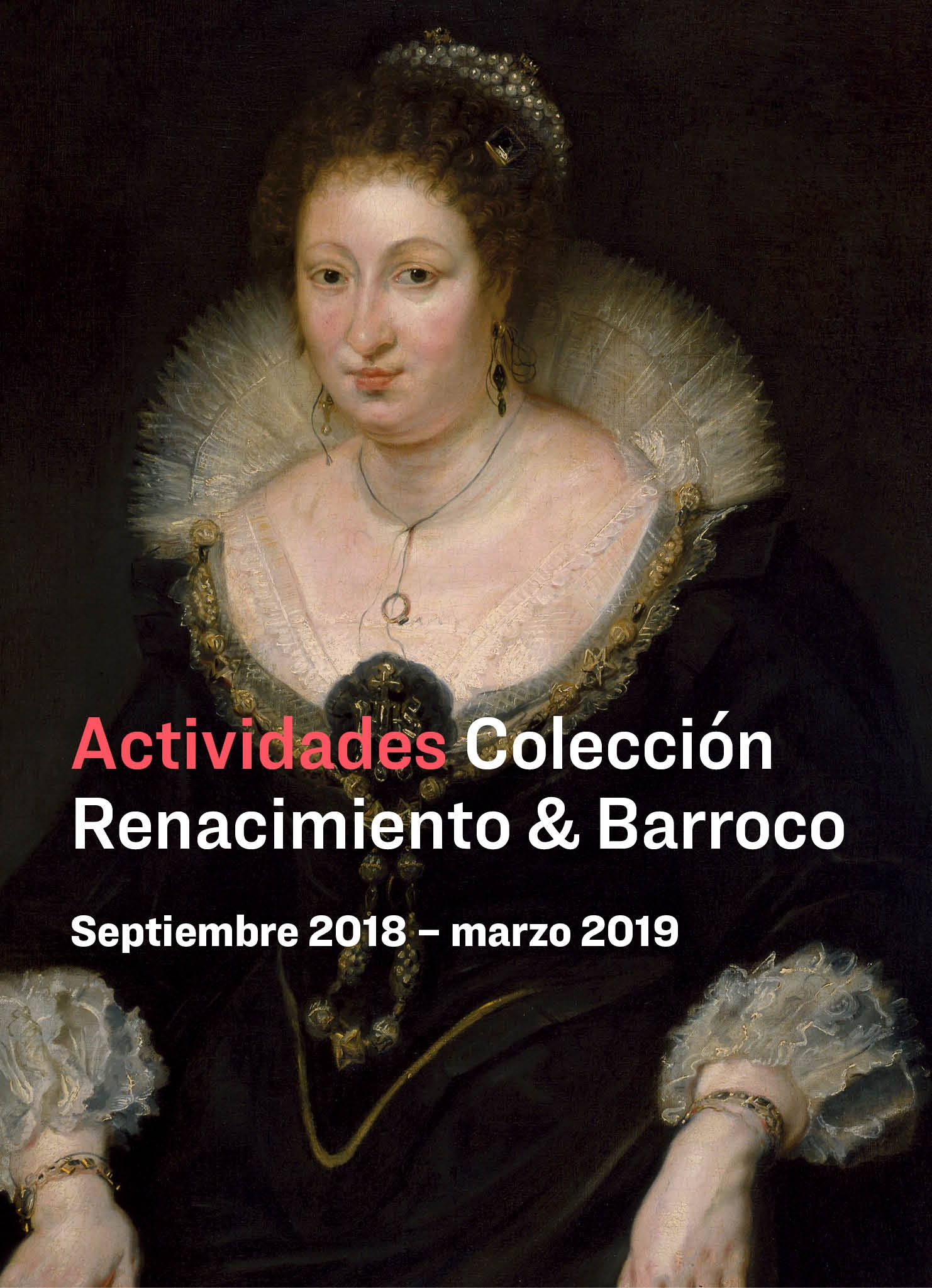 Actividades en torno a la nueva presentación de Renacimiento y barroco