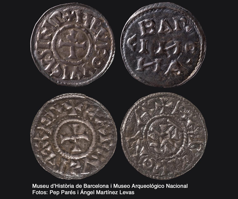 Monedas carolingias