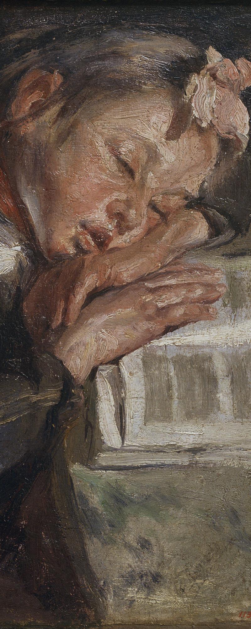 Museu Nacional d'Art de Catalunya | Nena dormint