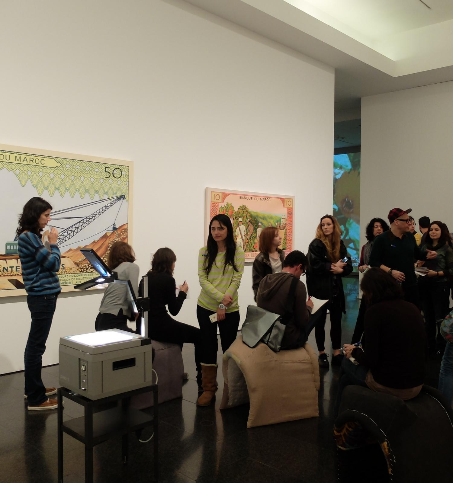 El museo en la red colecciones online facebook y twitter for Colecciones en red