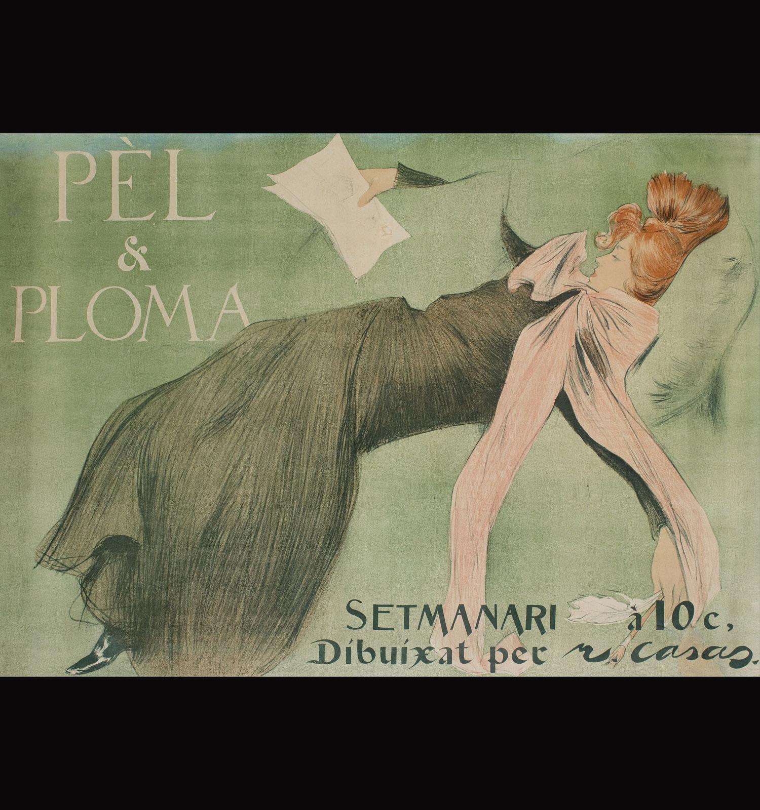 Pèl & Ploma, Ramon Casas