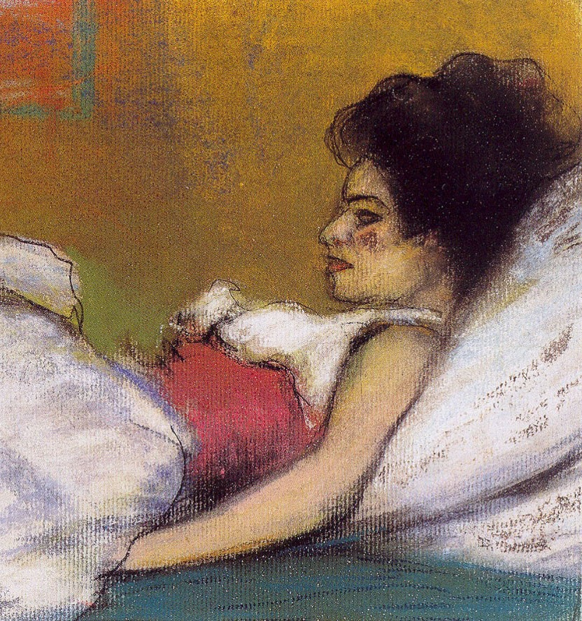 Ramon Pichot, Germaine (detall), c.1900. Col·lecció Artur Ramon