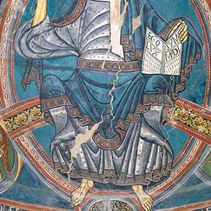 Sant Climent de Taüll. Detall dels plecs