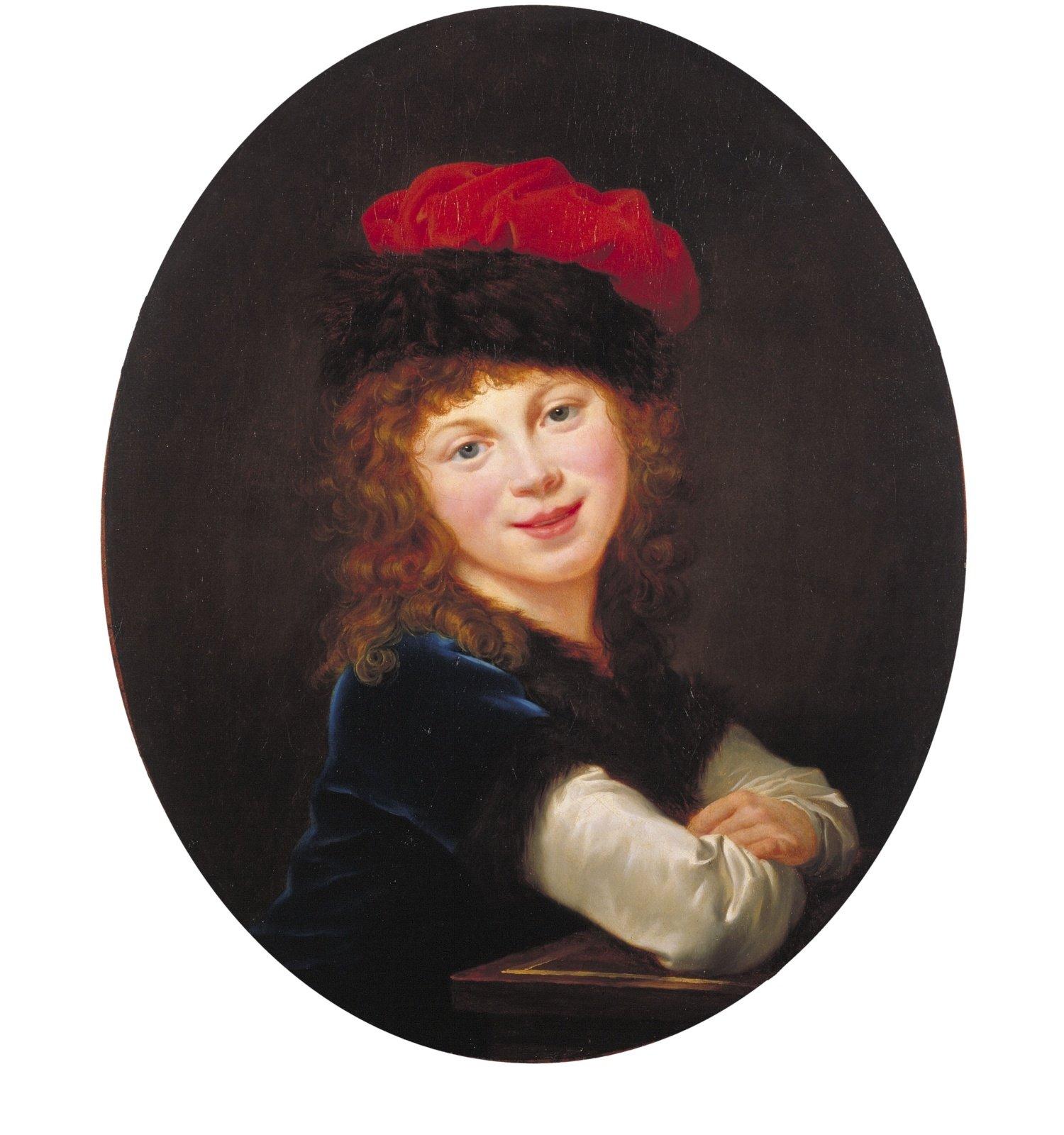 Retrat de nena, Élisabeth-Louise Vigée Le Brun, 1788-1790