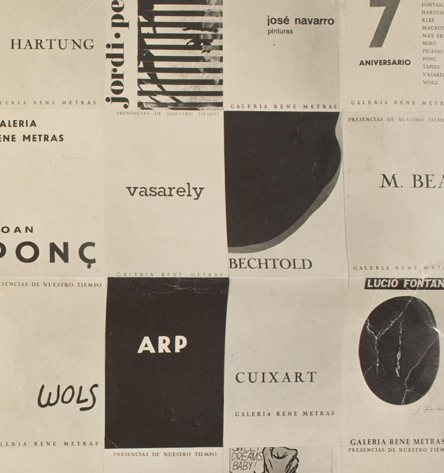 L'art català de la Postguerra a la Transició: un relat per construir