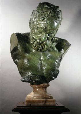 Rodin, Buste de Victor Hugo. Maison de Victor Hugo