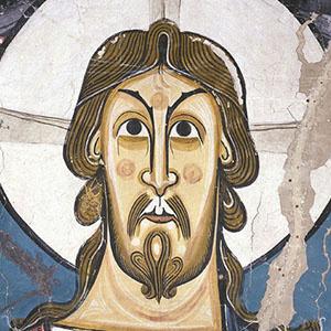 Sant Climent de Taüll. Detall del rostre