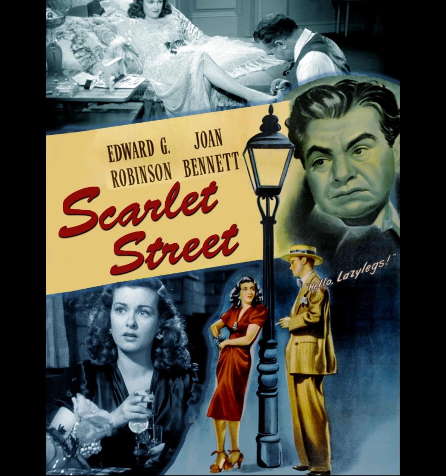 "Cartel de la película ""Sacrlett Street"""