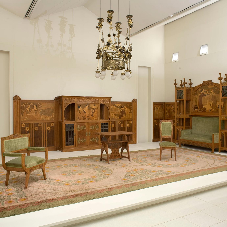 Museu Nacional Art Catalunya | Els interiors modernistes a Barcelona