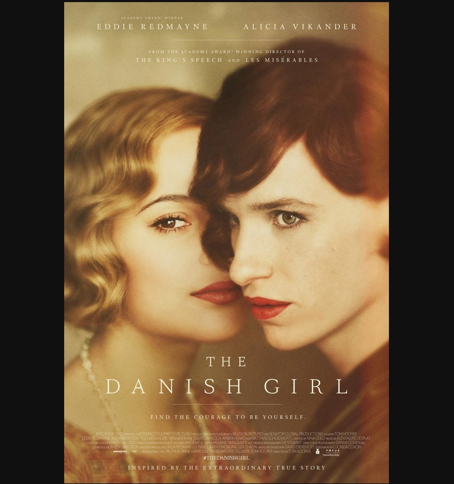 Cartel de la película The Danish Girl