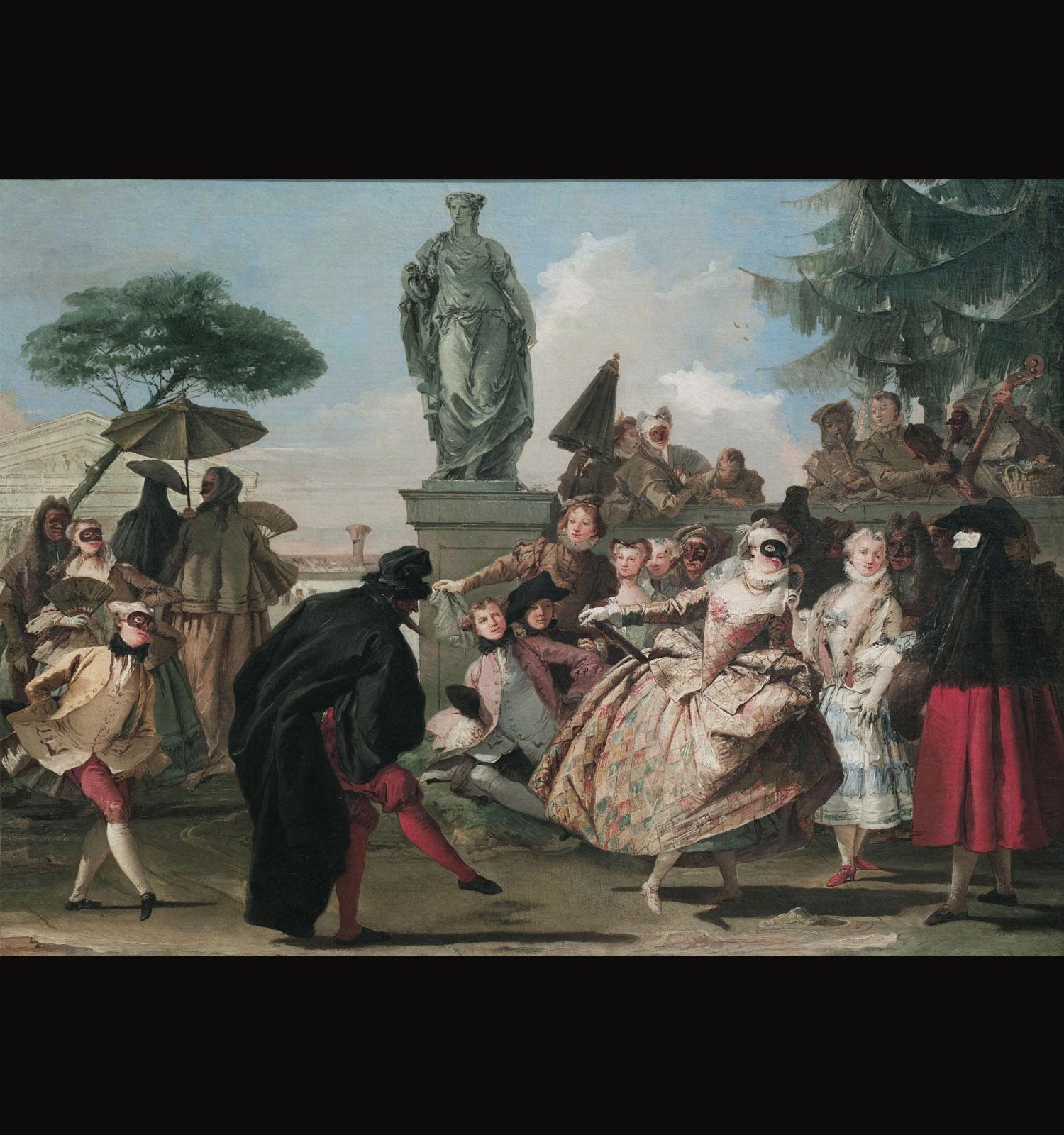 Giandominico Tiepolo, El Minuet