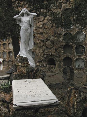 Enric Clarasó, Tomba de Jaume Brutau