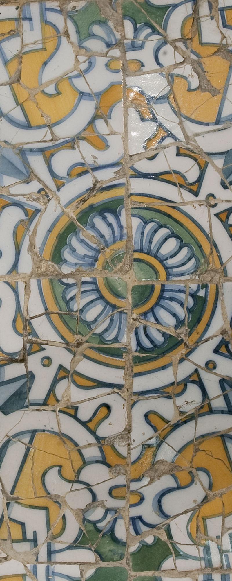 Museu Nacional d'Art de Catalunya | Peça de trencadís del Parc Güell