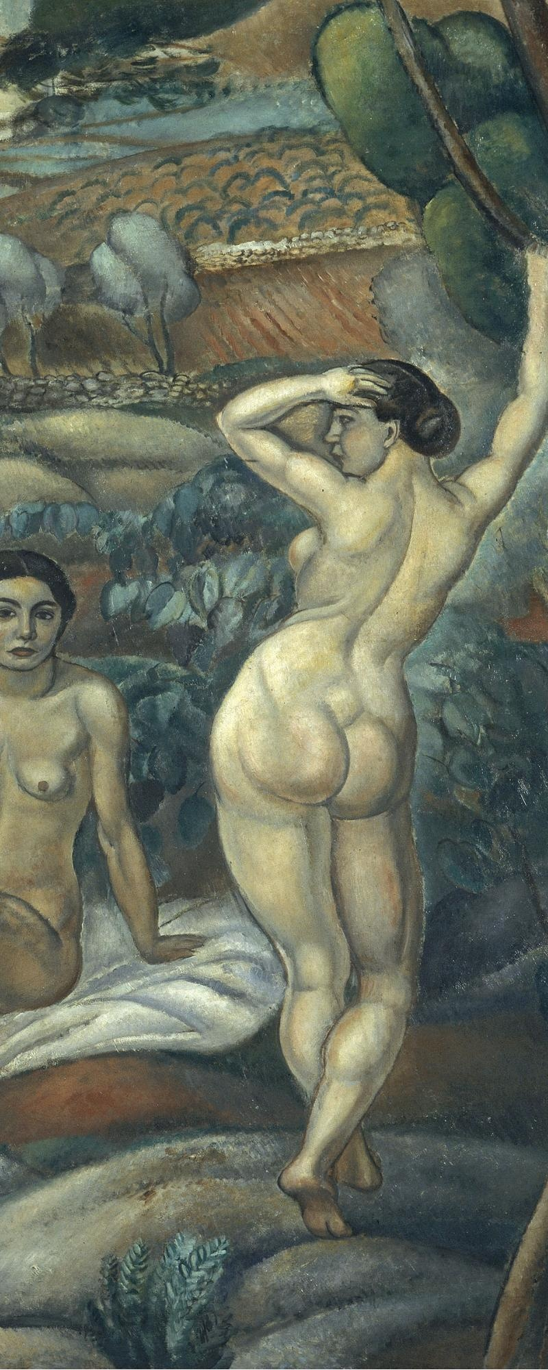 Museu Nacional d'Art de Catalunya | Tres nus al bosc