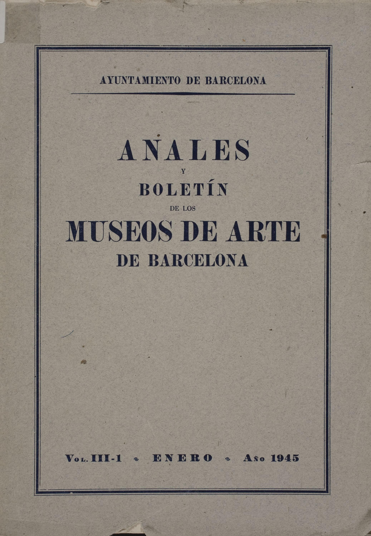 Vol. 3, núm. 1 (1945)