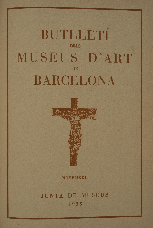 Vol. 5, núm. 54 (novembre 1935)