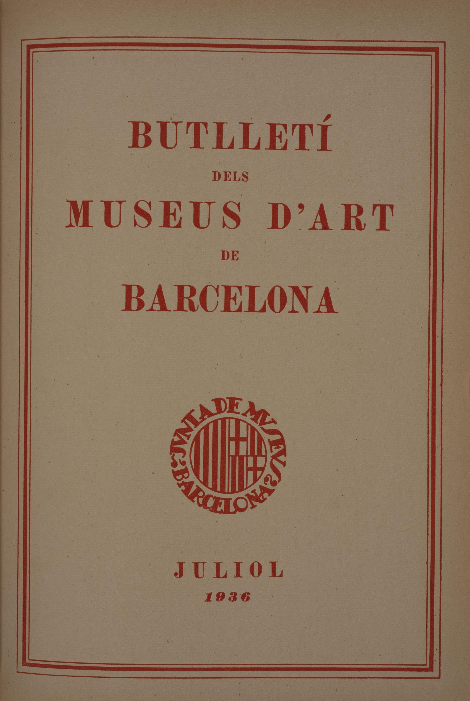Vol. 6, núm. 62 (juliol 1936)