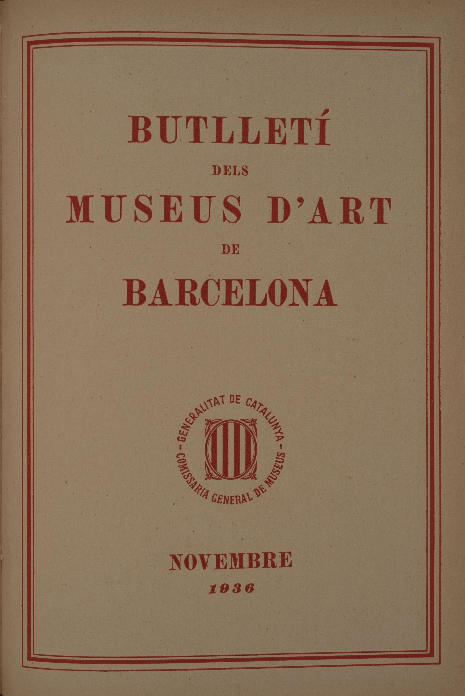 Vol. 6, núm. 66 (novembre 1936)