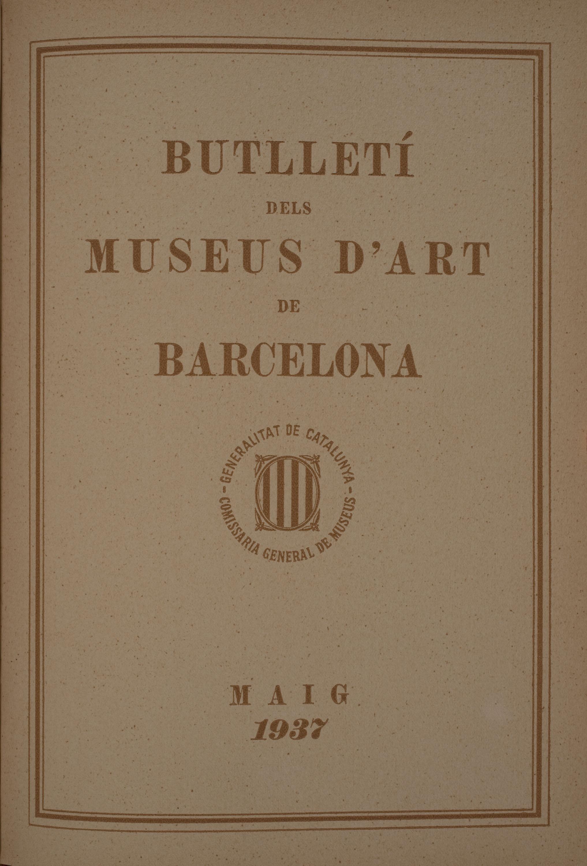 Vol. 7, núm. 72 (maig 1937)