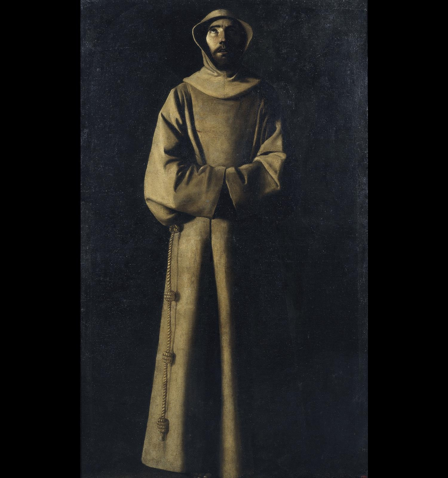 Saint Francis of Assisi according to Pope Nicholas V's Vision, Francisco de Zurbarán, circa 1640