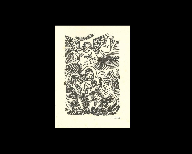 FELICITACIÓ  DE NADAL, 1949/950
