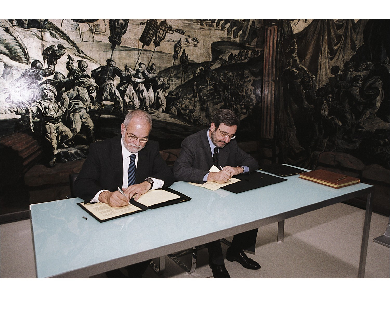 Conveni de Patrocini entre Fundación Telefonica i el Museu Nacional d'Art de Catalunya