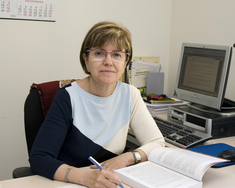 Rosa Reixats, directora de la Biblioteca
