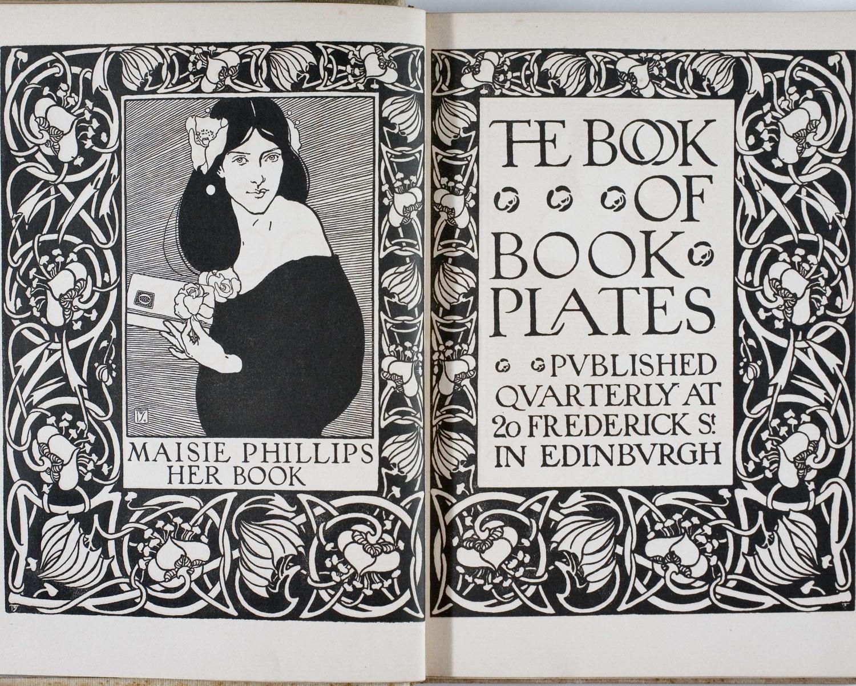 The Book of book-plates. Abr. 1900, vol. 1, núm. 1. Edinburgh, 1900-1905