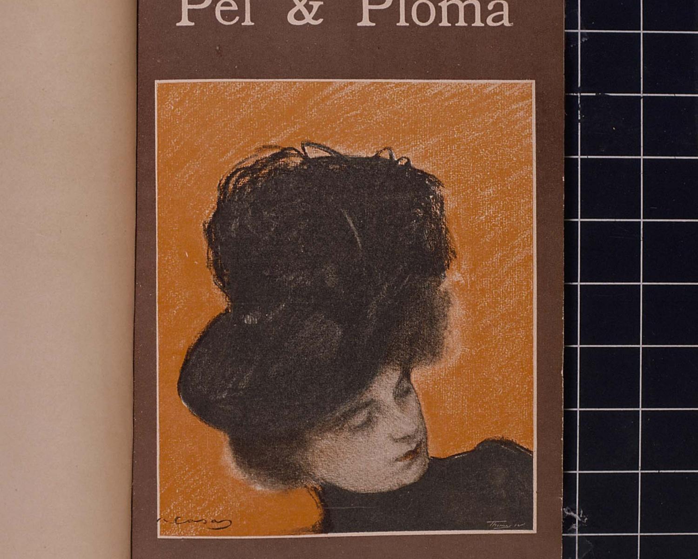 Pèl & ploma. Juny de 1901, vol. 3, núm. 77. Barcelona, 1899-1903