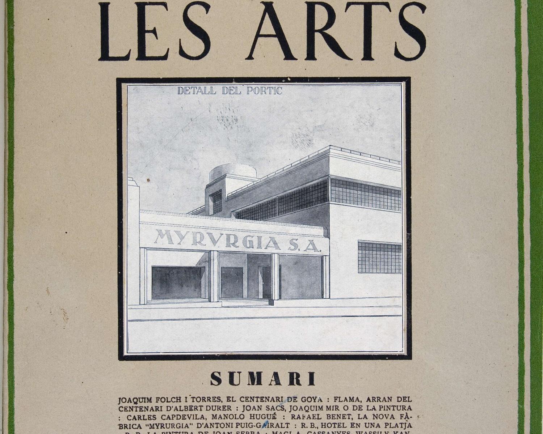 Gaseta de les arts. Juny de 1928, any 1, núm. 1. Barcelona, 1924-1930