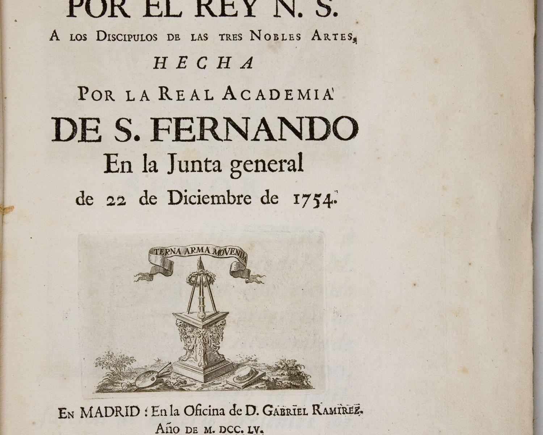 Real Academia de Bellas Artes de San Fernando...