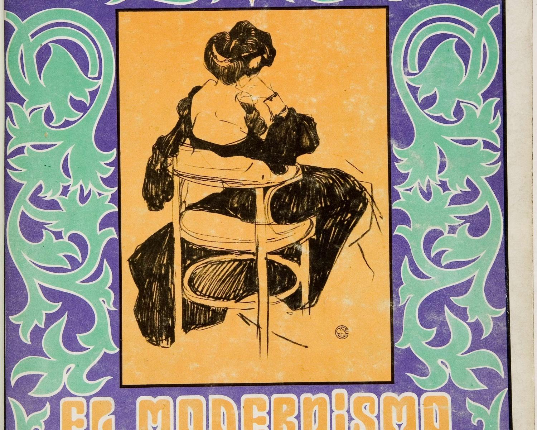 El Modernismo en España. [Madrid]: [Dirección General de Bellas Artes], DL 1969