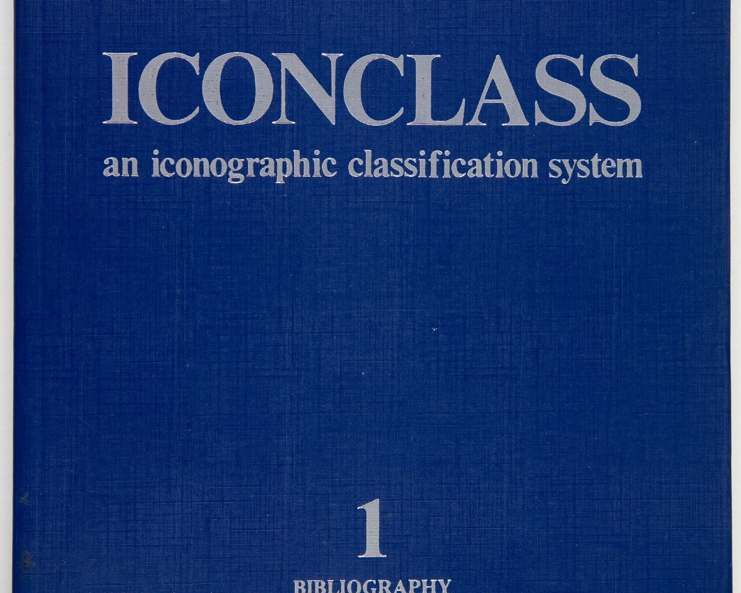 H. van de WAAL, Iconclass: an iconographic classification system. Amsterdam: North-Holland Pub. Co., 1973