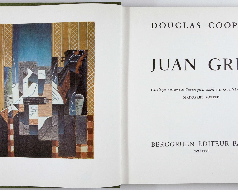 Douglas COOPER, Juan Gris: catalogue raisonné de l'oeuvre peint. Paris: Berggruen, 1977