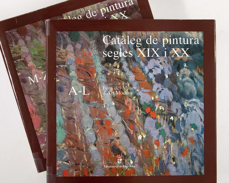 Museu d'Art Modern. Catàleg de pintura segles XIX i XX: Fons del Museu d'Art Modern. Barcelona: l'Ajuntament, 1987